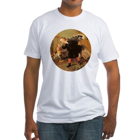 Vintage Thanksgiving Fitted T-Shirt