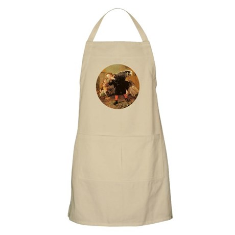 Vintage Thanksgiving BBQ Apron