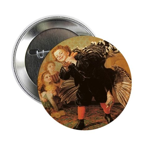 "Vintage Thanksgiving 2.25"" Button (100 pack)"
