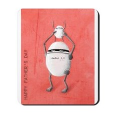 dadBot Father's Day Mousepad