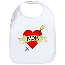Heart Mom Bib