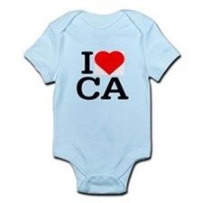 I Love California - Infant Creeper