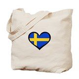 Swedish Love Tote Bag