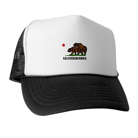 Califuckinfornia Trucker Hat