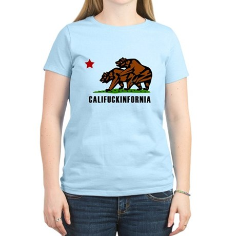 Califuckinfornia Womens Light T-Shirt