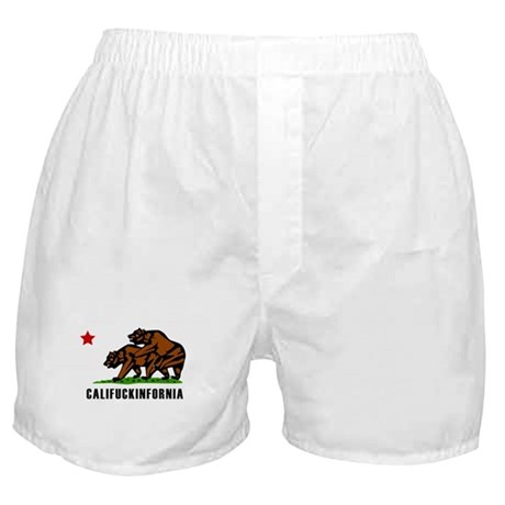 Califuckinfornia Boxer Shorts