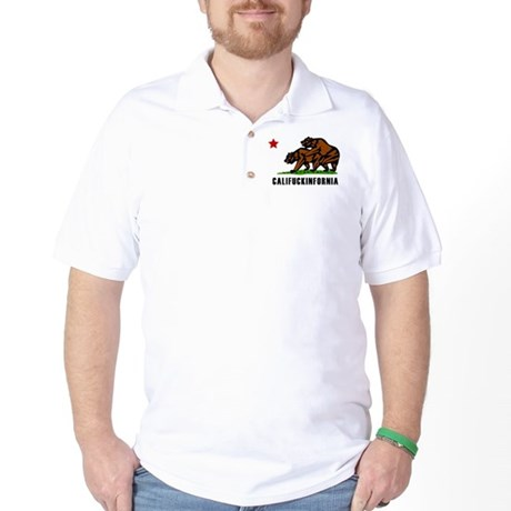 Califuckinfornia Golf Shirt