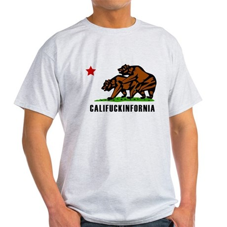 Califuckinfornia Light T-Shirt
