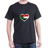 Sudanese Love Heart T-Shirt