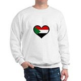 Sudanese Love Heart Sweatshirt