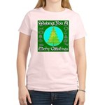 Wishing You A Merry Christmas Women's Light T-Shir