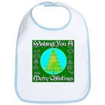 Wishing You A Merry Christmas Bib