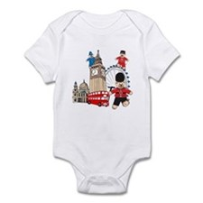 Running Around Infant Bodysuit