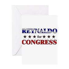 REYNALDO for congress Greeting Card