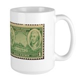 Generals Washington and Greene Large Military Mug
