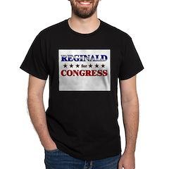 REGINALD for congress Dark T-Shirt