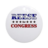 REESE for congress Ornament (Round)