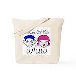 The Razor & Die Show Tote Bag