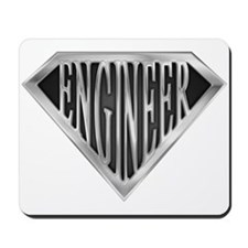 SuperEngineer(metal) Mousepad