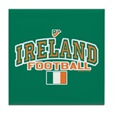 Ireland Football/Soccer Tile Coaster