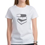 Stack Of Gray Books Women's T-Shirt