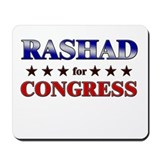 RASHAD for congress Mousepad