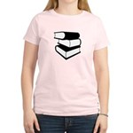 Stack Of Black Books Women's Light T-Shirt