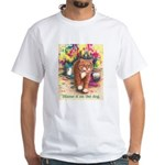 Blame it on the Dog White T-Shirt