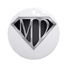 SuperMD(metal) Ornament (Round)