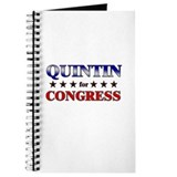 QUINTIN for congress Journal