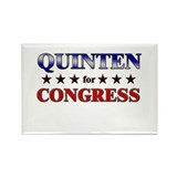 QUINTEN for congress Rectangle Magnet (10 pack)