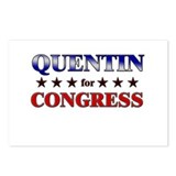 QUENTIN for congress Postcards (Package of 8)