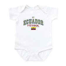 Ecuador Futbol/Soccer Infant Bodysuit