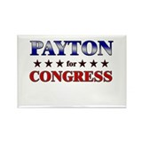 PAYTON for congress Rectangle Magnet (10 pack)