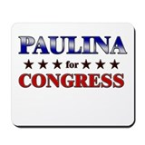 PAULINA for congress Mousepad