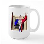 Alpha Man Large Mug