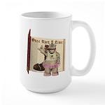 Heather Hippo Large Mug