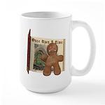 The Gingerbread Man Large Mug