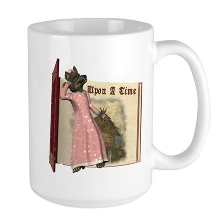 The Big Bad Wolf Large Mug