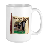 Three Blind Mice Large Mug