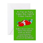 Santa Fairy Tale Greeting Card