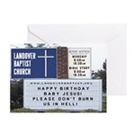 Church Sign Greeting Card