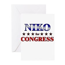 NIKO for congress Greeting Cards (Pk of 20)