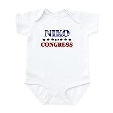 NIKO for congress Infant Bodysuit