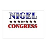 NIGEL for congress Postcards (Package of 8)