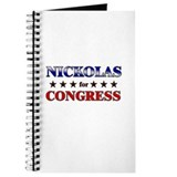 NICKOLAS for congress Journal