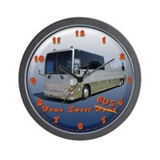 Tour Bus #1 Wall Clock