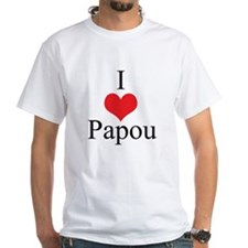 I Love (Heart) Papou Shirt