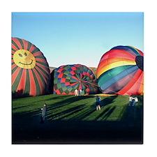 Helaine's Happy Ballooning Tile Coaster