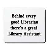 Library Assistant Mousepad